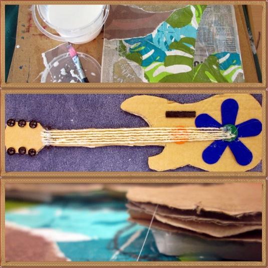 page picassos gitarr