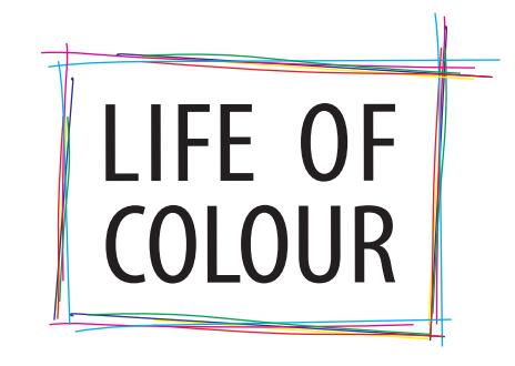 Loggan för Life of colour